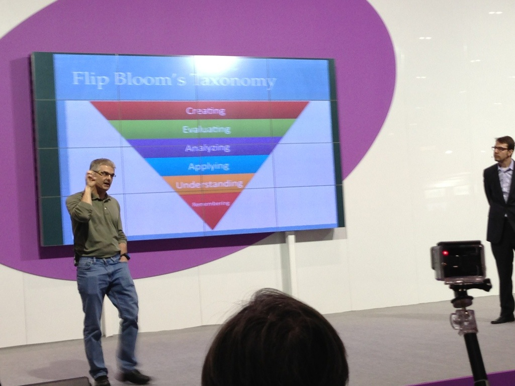 Aaron Sams och Jon Bergmann flippar Blooms taxonomi.